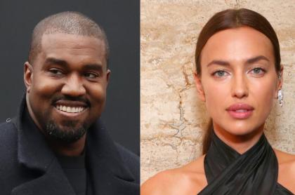 Imagen de KanyeWest que estaría olvidando a Kim Kardashian con IrinaShayk