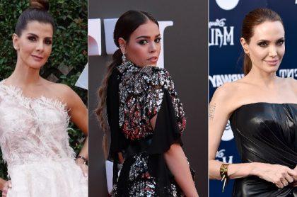 Carolina Cruz, Danna Paola y Angelina Jolie , a propósito de top de famosas que nacieron en junio, 'mes donde las bonitas cumplen años'.