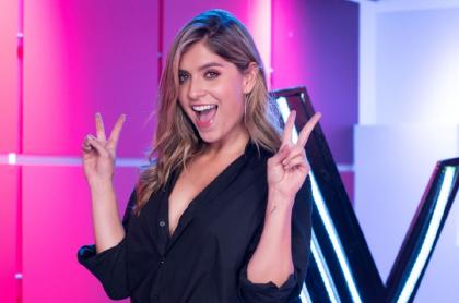 Laura Tobón en 'La voz', a propósito de sus nuevos negocios, uno ecológico y otro sostenible con bikinis y recicladores.