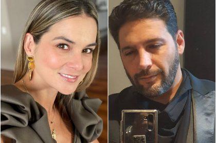 Catalina Gómez, que habló de su relación con Agmeth Escaf, y el actor