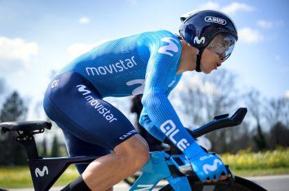 Miguel Angel Lopez en etapa 4 del Critérium del Dauphiné 2021. Clasificación general.