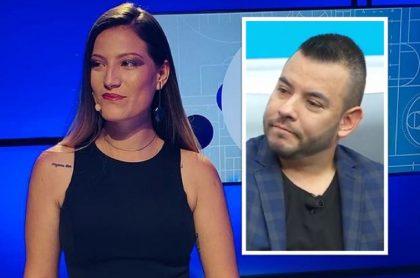 Daniel Pérez, presentador de Win Sports, le pidió perdón en vivo a periodista peruana por incomodo momento durante programa.
