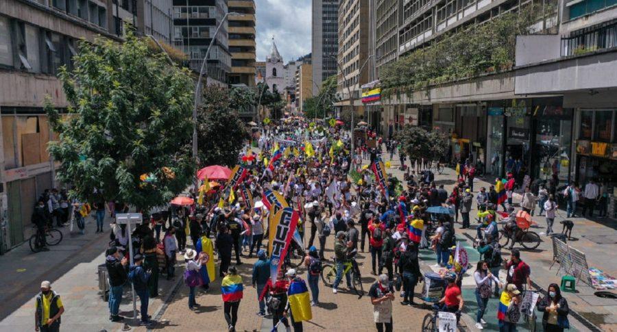 La CUT estaría convocando 'toma de Bogotá' el 9 de junio.