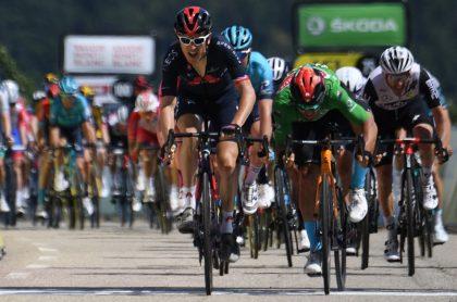 Geraint Thomas, ganador de la quinta etapa de Critérium del Dauphiné 2021