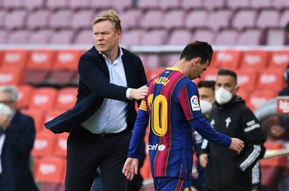 Imagen de Ronald Koeman, que fue confirmado un año más en el FC Barcelona