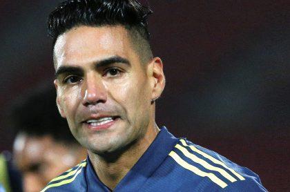 Falcao García le habría dicho no a la Selección Colombia en Eliminatoria. Imagen del delantero samario.