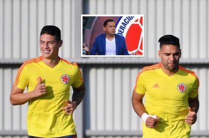 Valenciano opina porque James Rodríguez divide en la Selección Colombia y Falcao Rodríguez une.