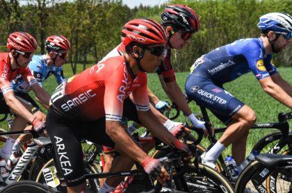Nairo Quintana, quien es 19 en el Critérium del Dauphiné 2021