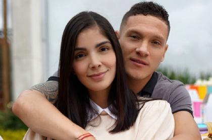 Andreina Fiallo exesposa de Fredy Guarín está embarazada de futbolista Javier Reina