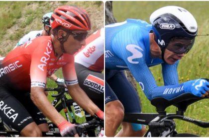Nairo Quintana y 'Supermán' en el Critérium del Dauphiné