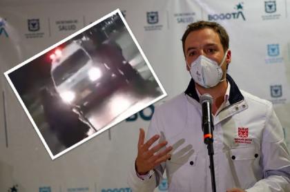 Luis Ernesto Gómez, Secretario de Gobierno, denunció que algunos indígenas trataron de bloquear una ambulancia en Bogotá.