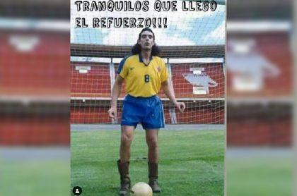Pedro, el escamoso nació luego del partido Colombia vs Argentina y Miguel Varoni contó sus habilidades para jugar fútbol