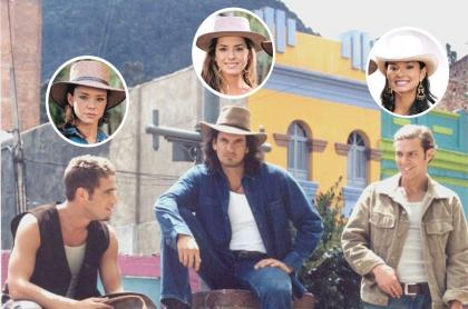 Natasha Klauss, Michel Brown, Danna García, Mario Cimarro, Paola Rey, 'el Gato' Baptista, en 'Pasión de gavilanes', a propósito de quiénes estarán y quiénes no en la segunda versión.