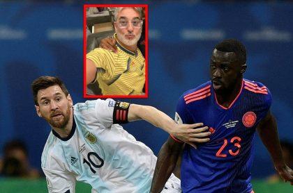 Miguel Varoni, de Pedro, el escamoso, sus amigos en la Selección Colombia y su camiseta de Messi.