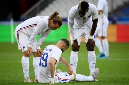 Karim Benzema juega vs Bulgaría, ilustra nota de Benzema sufre golpe con selección Francia y podría perderse la Eurocopa