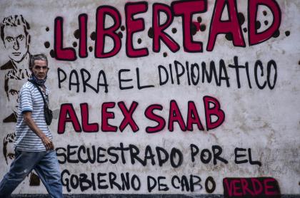 El gobierno venezolano asegura que Álex Saab es un diplomático suyo.