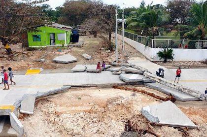 San Andrés y Providencia destruido por el huracán Iota ilustra nota sobre retrasos en la reconstrucción de la isla