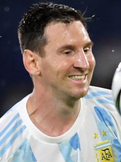 Lionel Messi inicia negociaciones con Inter Miami de  MLS; Barcelona lo espera. Imagen del astro argentino.