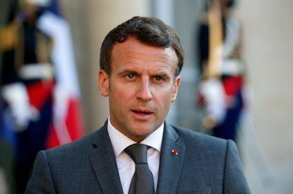 Dan 18 meses de cárcel a hombre que abofeteó a Emmanuel Macron