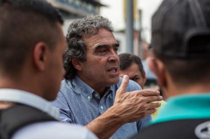 Sergio Fajardo, excandidato presidencial.