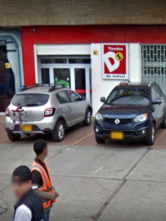 Tienda D1 de la Avenida de La Esperanza, en Bogotá.
