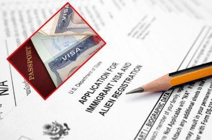 Preguntas en la solicitud de visa a Estados Unidos.