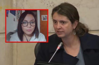 Debate de Paloma Valencia con Jennifer Pedraza en el que se hablaron duro.