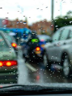 Imagen de lluvia que ilustra nota; Videos de lluvias con granizo y truenos en Bogotá hoy 11 de junio