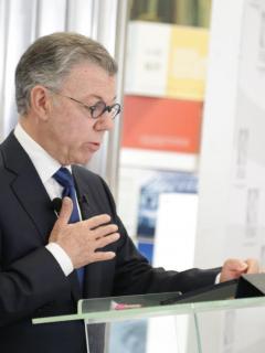 Juan Manuel Santos pidió perdón por los falsos positivos
