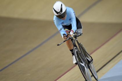 La ciclista oriunda de boyacá gana por segunda vez la competencia.