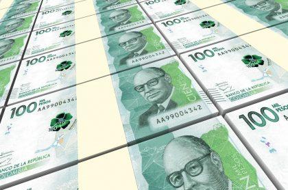 Imagen de dinero que ilustra nota; ETB dejó obra de $17.000 millones abandonada en Bogotá