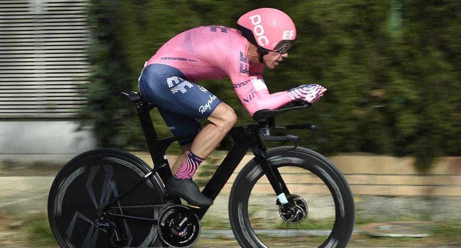 Rigoberto Urán en etapa 7 de la Vuelta a Suiza 2021. Clasificación general.