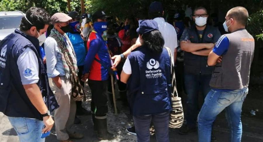 Hombres armados en Norte de Santander dispararon contra un grupo de 40 campesinos durante protesta en el municipio El Zulia.