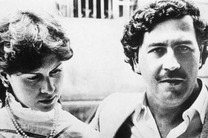 Foto de Pablo Escobar con Virginia Henao   en nota de relatos sobre procurador asesinado y de por qué usaba tacones.