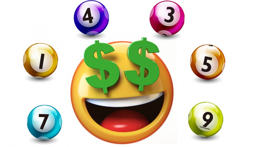 Emoji con pesos en la cara y balotas ilustran qué lotería jugó anoche y resultados loterías de la Cruz Roja y Huila junio 15 (fotomontaje Pulzo).