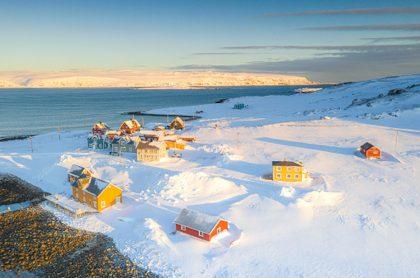 Italiana paso la cuarentena sola en el Ártico