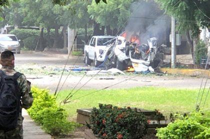 Los terroristas habrían ingresado el carro bomba de Cúcuta haciéndose pasar por funcionarios.