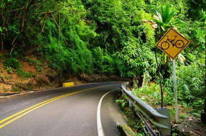 Carretera colombiana.