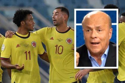 """Carlos Antonio Vélez volvió a cuestionar a los futbolistas de la Selección Colombia y aseguró deberían dejar de hacer el """"ridículo"""" en las redes."""