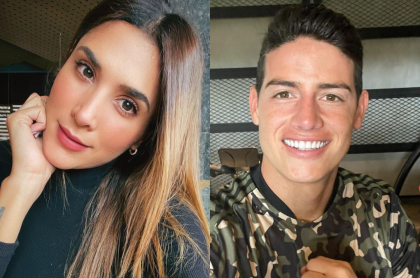 Foto de Daniela Ospina y James Rodríguez, a propósito de cómo es su relación y si ella quiere tener más hijos