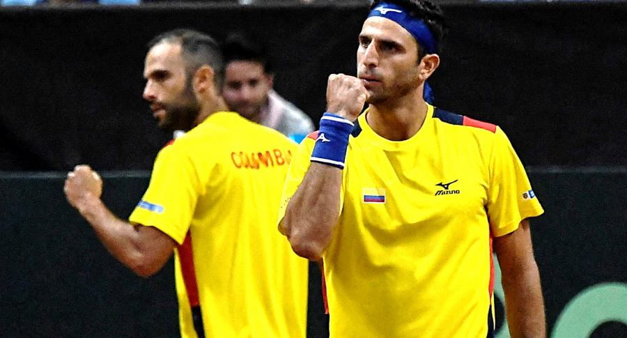 Juan Sebastián Cabal y Robert Farah, clasificados a Juegos Olímpicos de Tokio. Imagen de los tenistas colombianos.