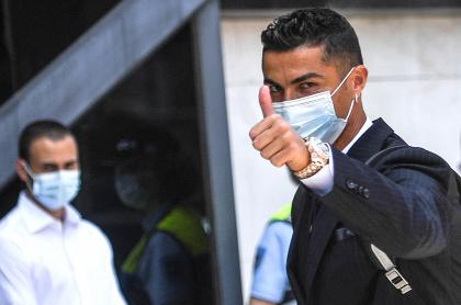 No reconocen a Cristiano Ronaldo en entrada de estadio de la Eurocopa. Imagen del astro portugués.