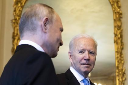 Resultados del encuentro de Joe Biden y Vladimir Putin, Ginebra, junio de 2021.