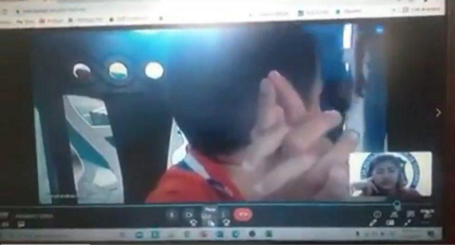 Niño que estaba en clase virtual cuando un ladrón entró a su casa, en Santa Marta