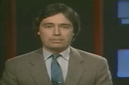 Video de César Augusto Londoño hablando de Millonarios en 1987.