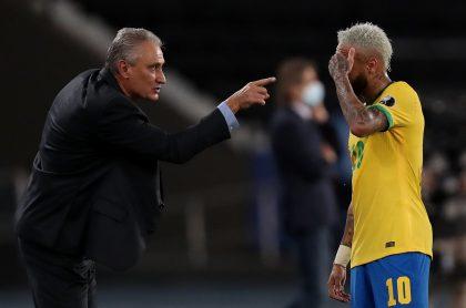Imagen de Tite que ilustra nota; Copa América: Brasil debería jugar contra europeos, según Tite