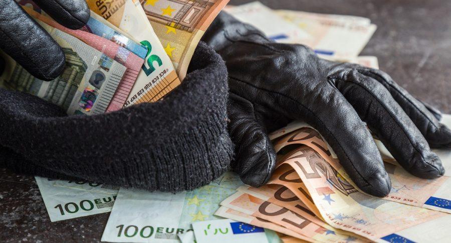 Imagen de ladrones que ilustra nota; Bogotá: ladrones roban casas de cambio en Unicentro (norte)