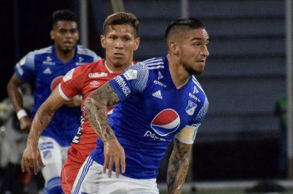Cristian 'Chicho' Arango, quien no podrá jugar final Millonarios vs Tolima pese a convocatoria de Juan Pablo Vargas