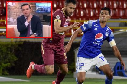 Comentario de Juan Diego Alvira sobre el partido de Millonarios vs. Tolima, en Liga BetPlay.