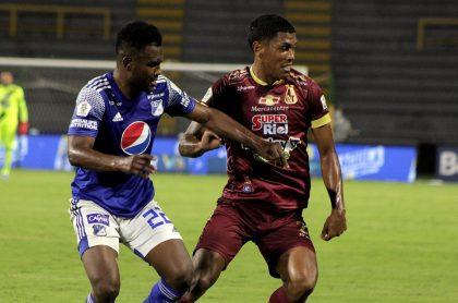 Deportes Tolima se queja por arbitraje en final con Millonarios